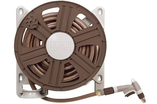 NeverLeak Side Mount Hose Reel With 100-Feet Hose Capaci